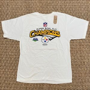 NEW Pittsburgh Steelers Reebok Super Bowl Shirt M